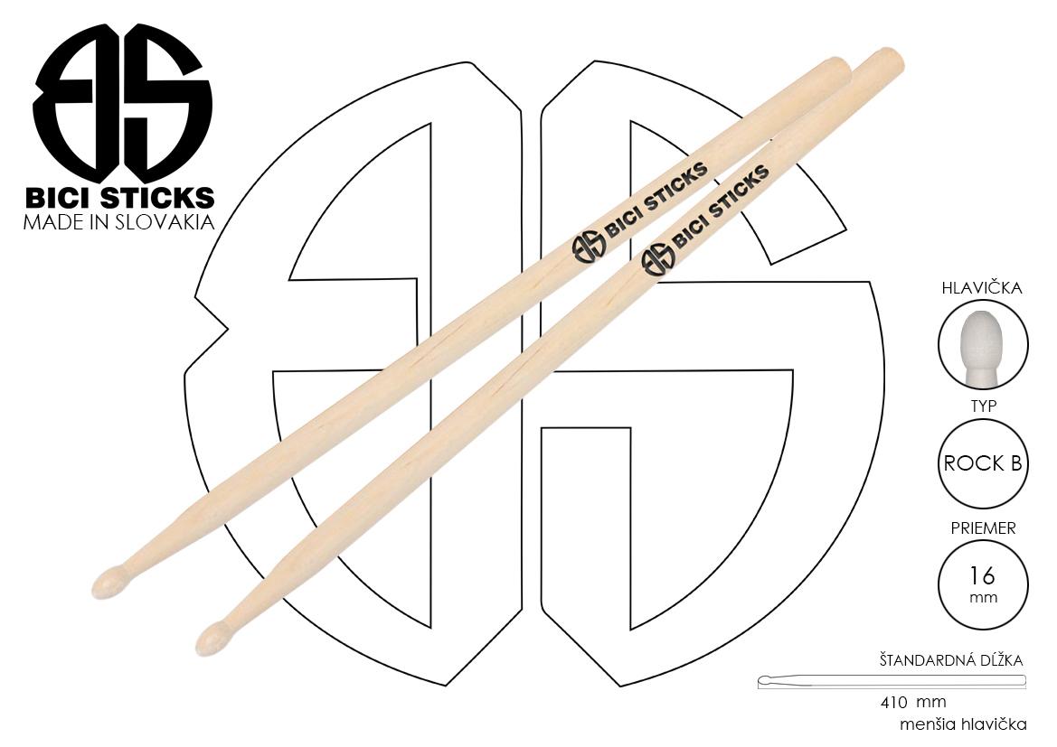 12 bici sticks bubenicke palicky detail produktu ROCK B